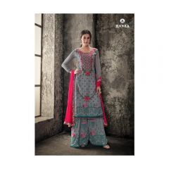 HANSA HUSNA ARA EXCLUSIVE VOL-3 INDIAN Georgett DRESSES SARA for Women
