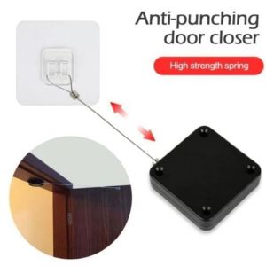 Anti-Punching Door Closer (When you open the door the door will close automatically! )